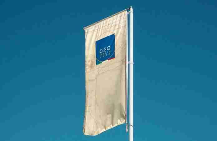 Il logo del G20 2021 in Italia
