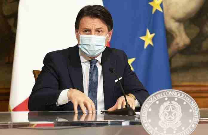 Giuseppe Conte conferenza