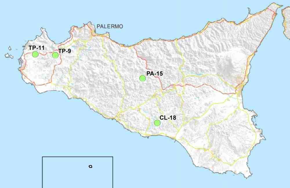 Cartina Sicilia Mondello.Scorie Nucleari Quattro Siti In Sicilia No Della Regione Focusicilia