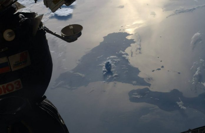 La Sicilia vista dalla ISS - foto di Luca Parmitano