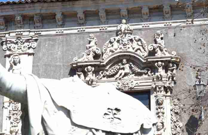palazzo Biscari dettaglio