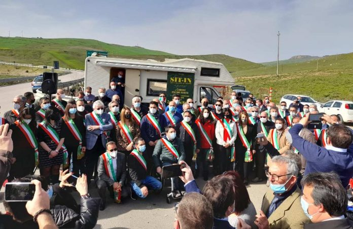 I sindaci delle Terre alte di Sicilia pronti alla partenza