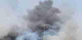 Incendio in zona Fossa Creta - via Palermo a Catania del 30 luglio 2021