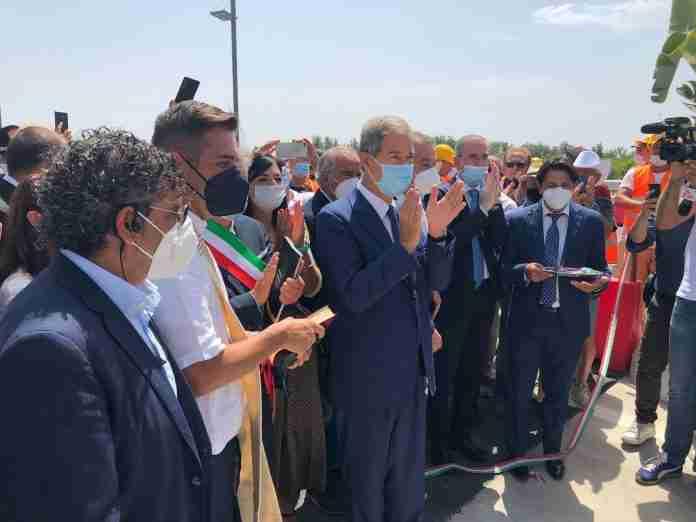 Musumeci inaugurazione autostrada Rosolini-Ispica 20210803